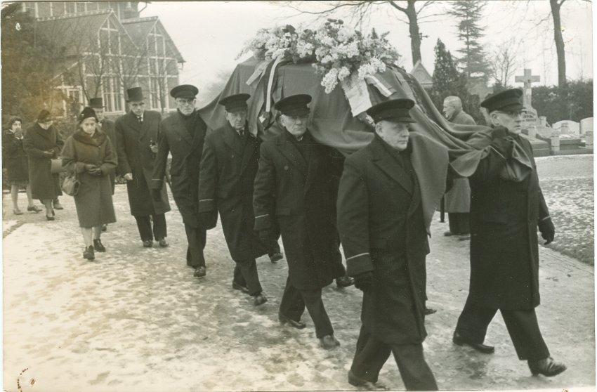 Jules Moes_Begrafenis
