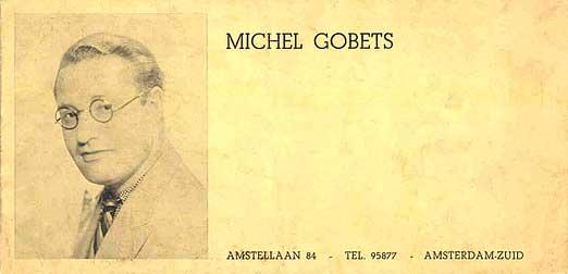 Michel Gobets - zijn kaartje