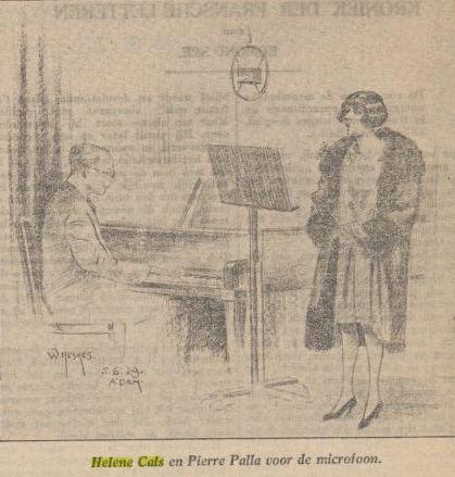 Helene Cals_Pierre Palla_Berlijn_1929