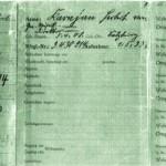 NSDAP Ausweiss Von Karajan