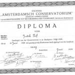 Diploma Judith Toff