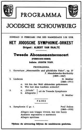JoodscheSchouwburgProgram15021942