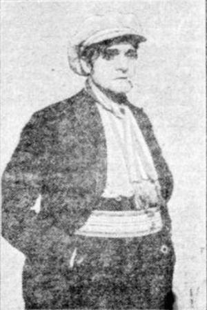 1921_Emile van Bosch als apache in De Koningin van Montmartre