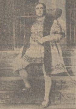 Henk Noort als Walter Meistersinger door het Deutsche Opernhaus_1941