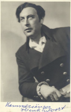 Henk Noort als Walther von Stolzing