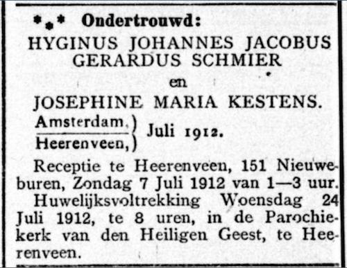 Ondertrouw Schmier Gooi-en Eemland 6-7-12