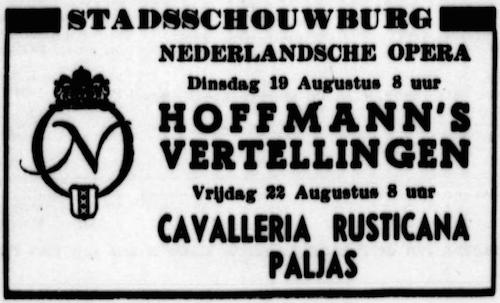 Lidy vd Veen debuut DNO 1947
