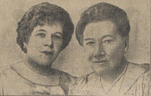 Tilly Koenen en Amy Hare