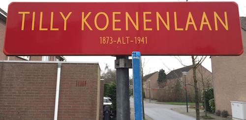 Tilly Koenenlaan