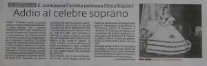 Morta Elena Rizzieri