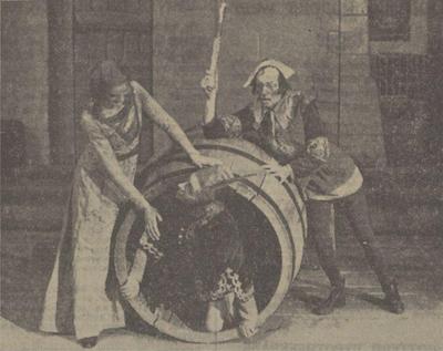 1942 Boccaccio v.l.n.r. Gerda Pons, Otto Couperus en Jos. Ptemper