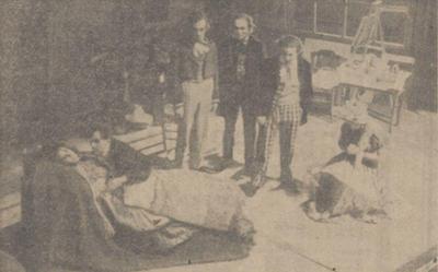 1942 Boheme vlnr Greet Koeman, Chris Beumer, Jos Plemper, Joh. Lammen, Theo Bayle en Gerda Pons